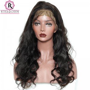 13X6 Deep Part Wig Body Wave Lace Front  Wig Brazilian Virgin Human Hair preplucked Natural Hairline With Baby Hair Full Lace Cap Full Ends 150% Density