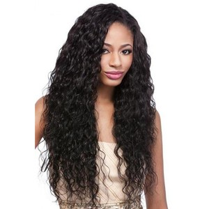 Natural Color 100% Brazilian Virgin Human Hair Brazilian Curly Full Lace Wigs