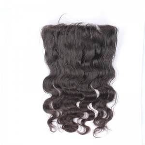 13*6 Lace Frontal With Natural Hairline Body Wave Brazilian Virgin Hair Lace Frontal