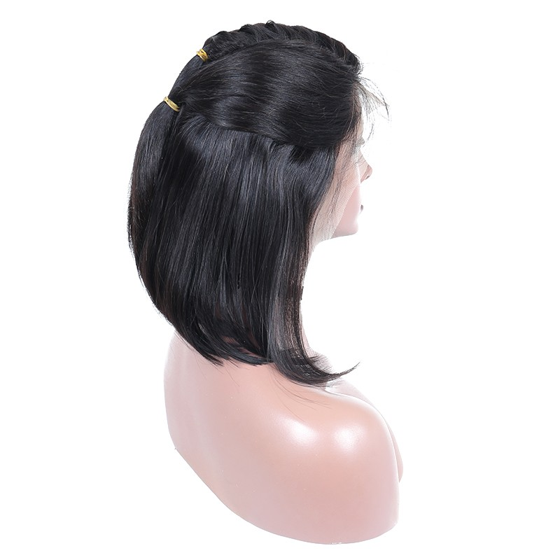 Natural Hairline Human Hair Wigs Black Women