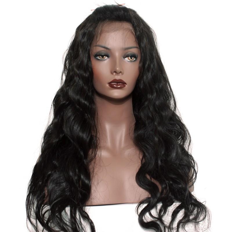 de1e1ed4a 250% Density Full Lace human Hair Wigs Brazilian Virgin Human Hair Body wave  Glueless Lace