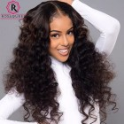 360 Lace Frontal Closure With 2 Bundles Loose Wave Brazilian Virgin Hair Loose Curl