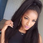 360 Lace Frontal Closure Kinky Straight Brazilian Virgin Hair Lace Frontal Natural Hairline 22.5*4*2