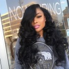 Brazilian Wigs 150% Density Body Wave Lace Front Ponytail Wigs Pre-Plucked Natural Hair Line