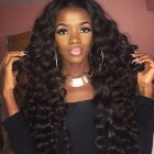Brazilian Loose Wave Virgin Hair 250% Density Lace Front Wig Full Lace Human Hair Wigs