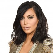 Kim Kardashian Bob Haircut Brazilian Virgin Human Hair Full Lace Wig Short Bob Hair Wig