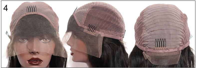 RosaQueenHair.com Glueless Full Lace Cap,cap4