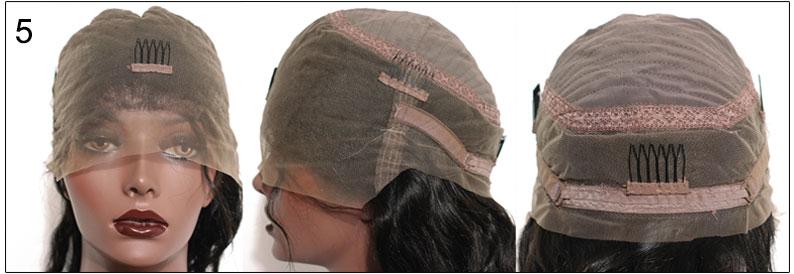 RosaQueenHair.com Glueless Full Lace Cap,cap5